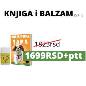 KNJIGA i BALZAM 50ml